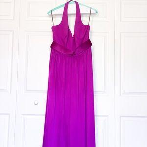 Vera Wang Halter Bridesmaids Dress